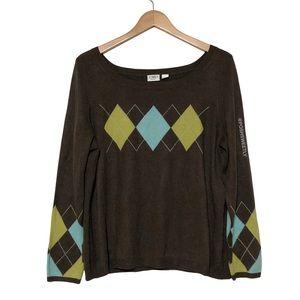 Cato Argyle Sweater